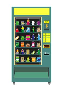 vending machine clipart